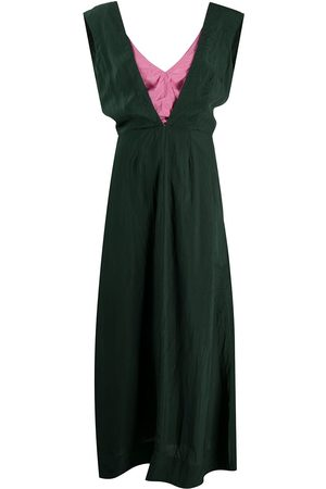 Colville Layered-look maxi dress