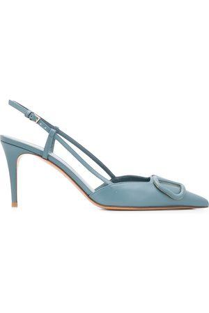 VALENTINO GARAVANI Women Heels - VLOGO calfskin pumps