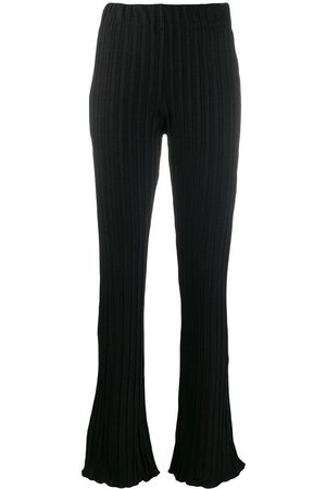 Simon Miller Flared fitted trousers