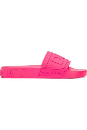 Dolce & Gabbana Women Sandals - Logo sliders