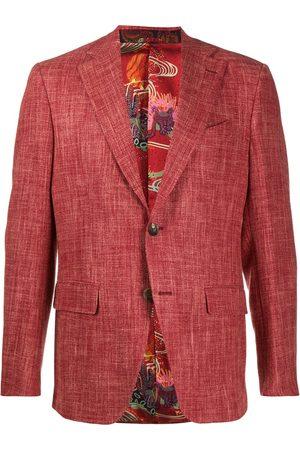 Etro Men Blazers - Single-breasted regular-fit blazer