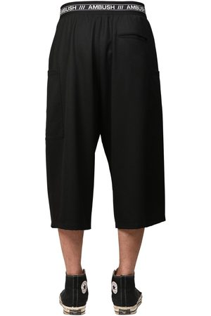 AMBUSH Logo Band Cool Wool Shorts
