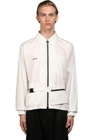 AMBUSH Logo Print Cotton Poplin Shirt W/ Bag