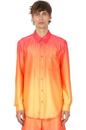 Sies marjan Gradient Printed Stretch Shirt