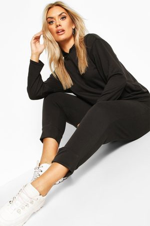 Boohoo Womens Plus Hoody & Jogger Set - - 12
