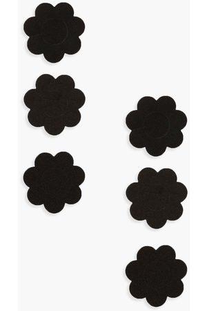 Boohoo Womens Satin 3 Pack Floral Nipple Covers - - One Size