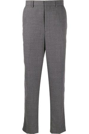 AMI Paris Men Pants - Carrot fit tapered trousers - Grey