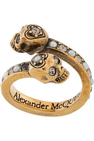 Alexander McQueen Women Rings - Wrap-around skull ring