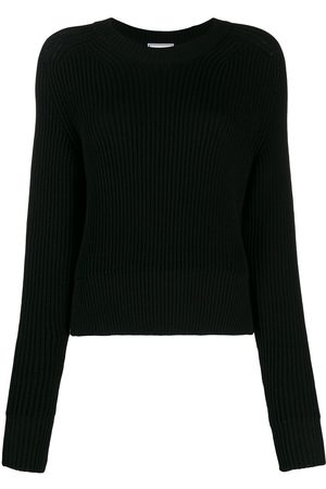 Ami Crew neck knitted top