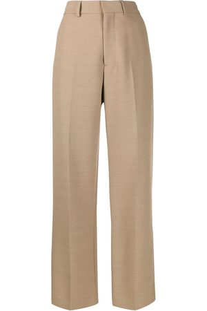 Ami Wide Fit Trousers - Neutrals