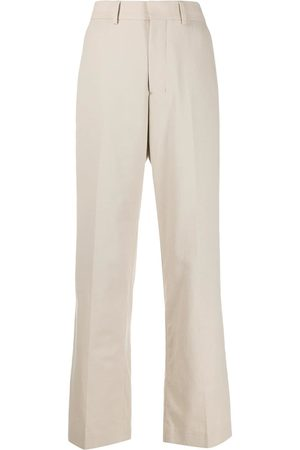 Ami Wide-fit trousers - Neutrals
