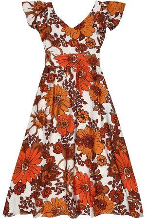 DODO BAR OR Floral dress
