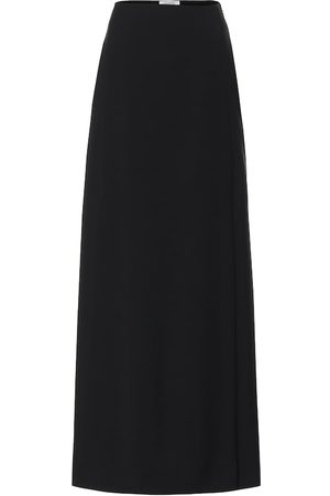 VALENTINO Wool and mohair maxi skirt
