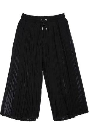 Diesel Plisse Georgette Wide Leg Pants