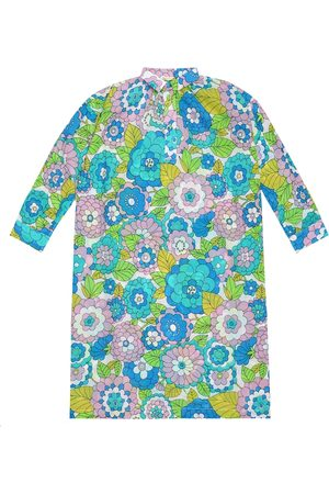 DODO BAR OR Floral cotton kaftan