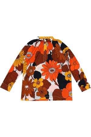 DODO BAR OR Floral cotton shirt