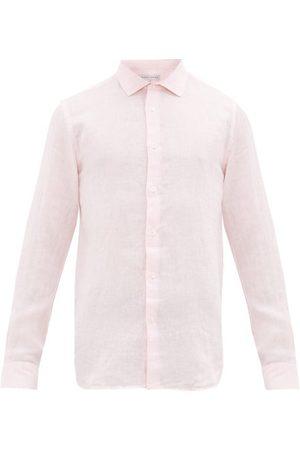 Orlebar Brown Men Casual - Giles Linen Shirt - Mens
