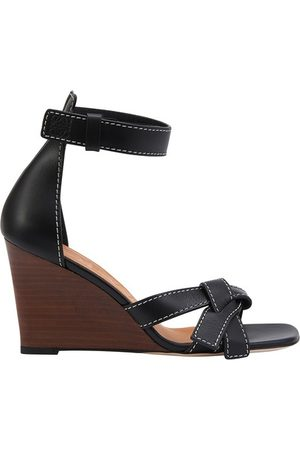 Loewe Women Wedges - Gate Wedge sandals