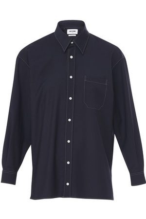 Uniforme Virgin wool oversized shirt