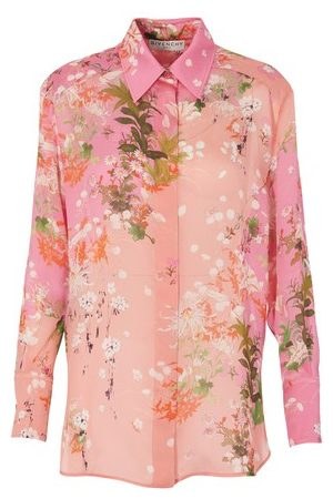 Givenchy Women Shirts - Charmeuse printed shirt
