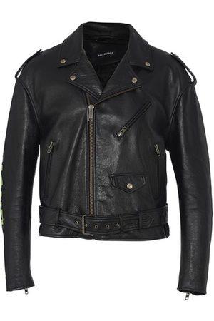 Balenciaga Painted Biker Jacket