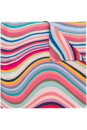 Paul Smith Women Scarves - Wave stripe scarf