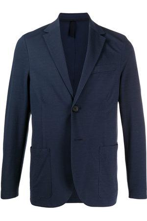 Harris Wharf London Textured single-breasted blazer