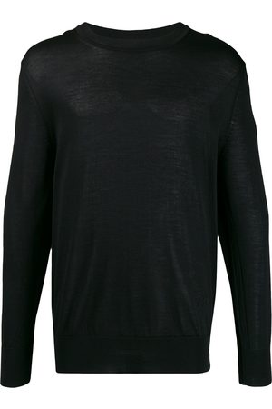 Ami Ribbed crew neck knitted jumper