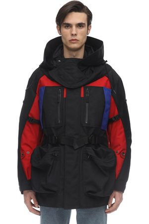 Burberry Hooded Zip-up Nylon Parka