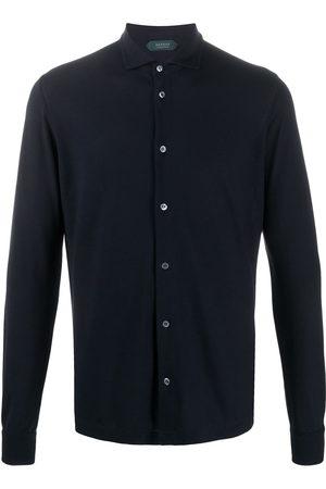 ZANONE Men Shirts - Regular-fit cotton shirt
