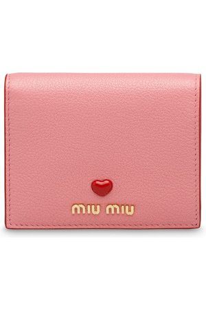 Miu Miu Women Wallets - Madras leather wallet