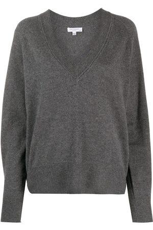 Equipment Madalene V-neck jumper - Grey