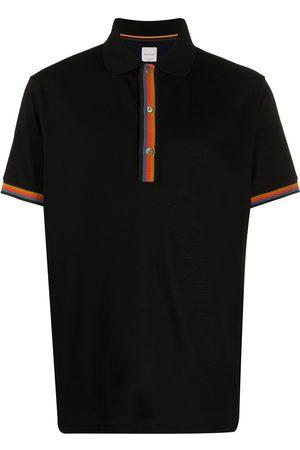 Paul Smith Striped-trim polo shirt
