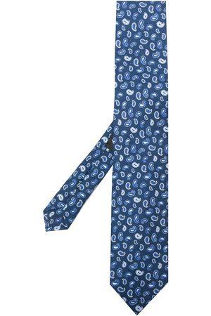 Etro Men Bow Ties - Micro paisley-print silk tie