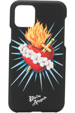 Palm Angels Heart print iPhone 11 Pro cover