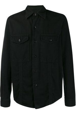 Ami Men Casual - Chest pockets overshirt