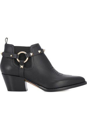 VALENTINO GARAVANI Harness cowboy boots