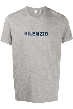 Aspesi Men T-shirts - Silenzio T-shirt - Grey