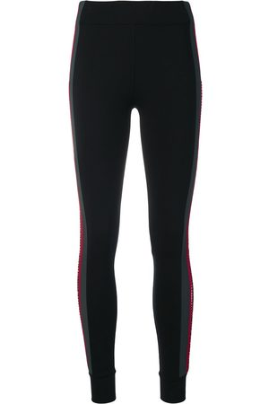 NO KA' OI Embellished side stripe leggings