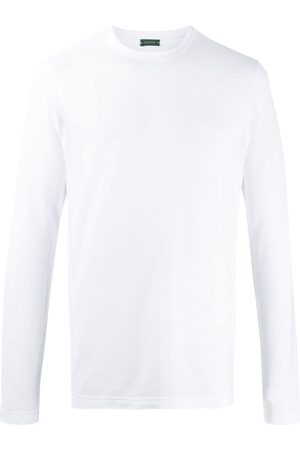 ZANONE Men Long Sleeve - Long-sleeved cotton T-shirt