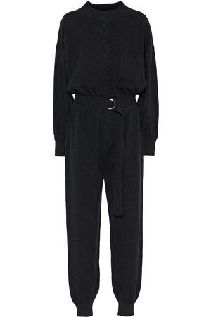 Cordova Women Formal Pants - Corvara wool and silk jumpsuit