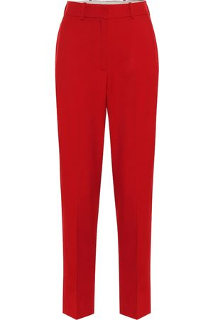 RACIL Michael high-rise wool pants