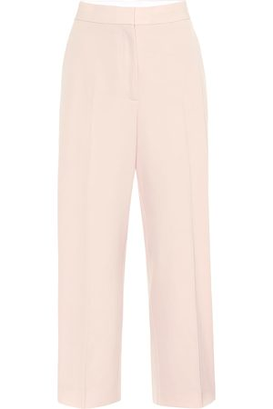 Stella McCartney High-rise straight wool pants