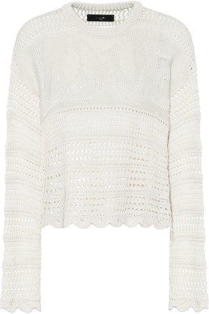 AMIRI Love silk-blend sweater