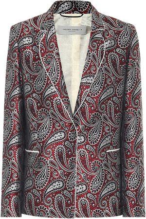 Golden Goose Venice paisley blazer