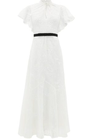 Erdem Celestina Embroidered-lace Cap-sleeve Gown - Womens