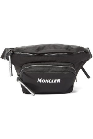 Moncler Durance Logo-embroidered Cross-body Bag - Mens