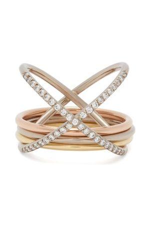 CHARLOTTE CHESNAIS Xxo Diamond & 18kt Ring - Womens