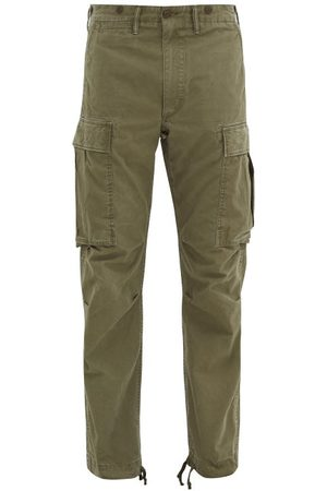 RRL Cotton-twill Cargo Trousers - Mens