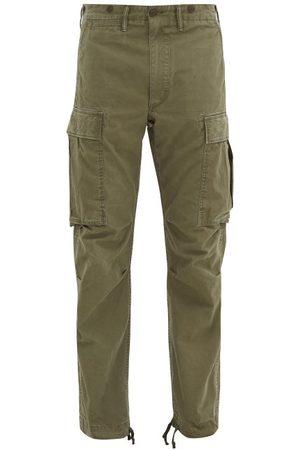 RRL Men Cargo Pants - Cotton-twill Cargo Trousers - Mens